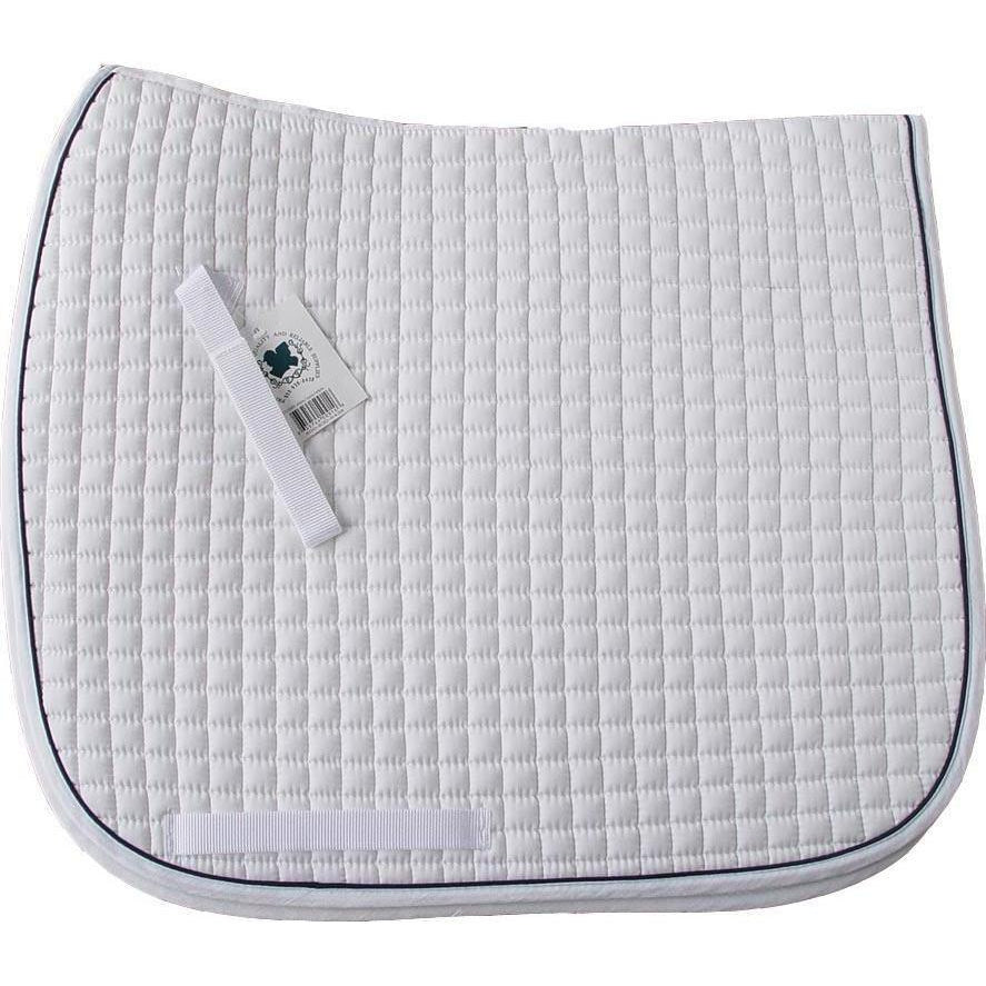 Pacific Rim International Cotton Quilted Dressage Pad - West 20 Saddle Co.