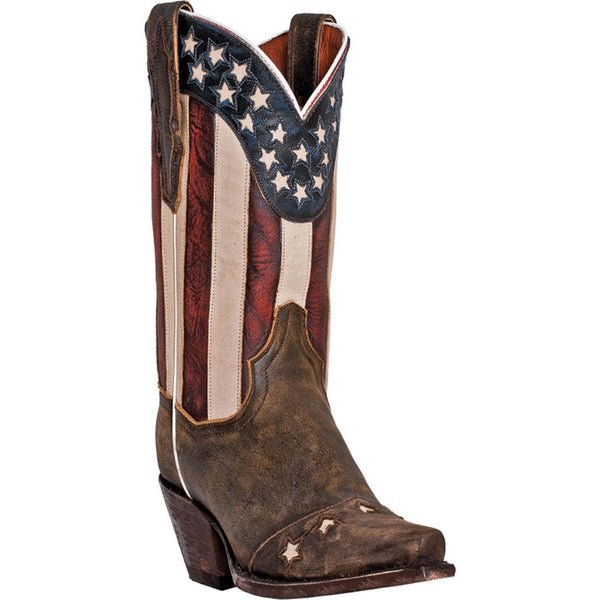 Dan Post Liberty Flag Women's Boot - West 20 Saddle Co.