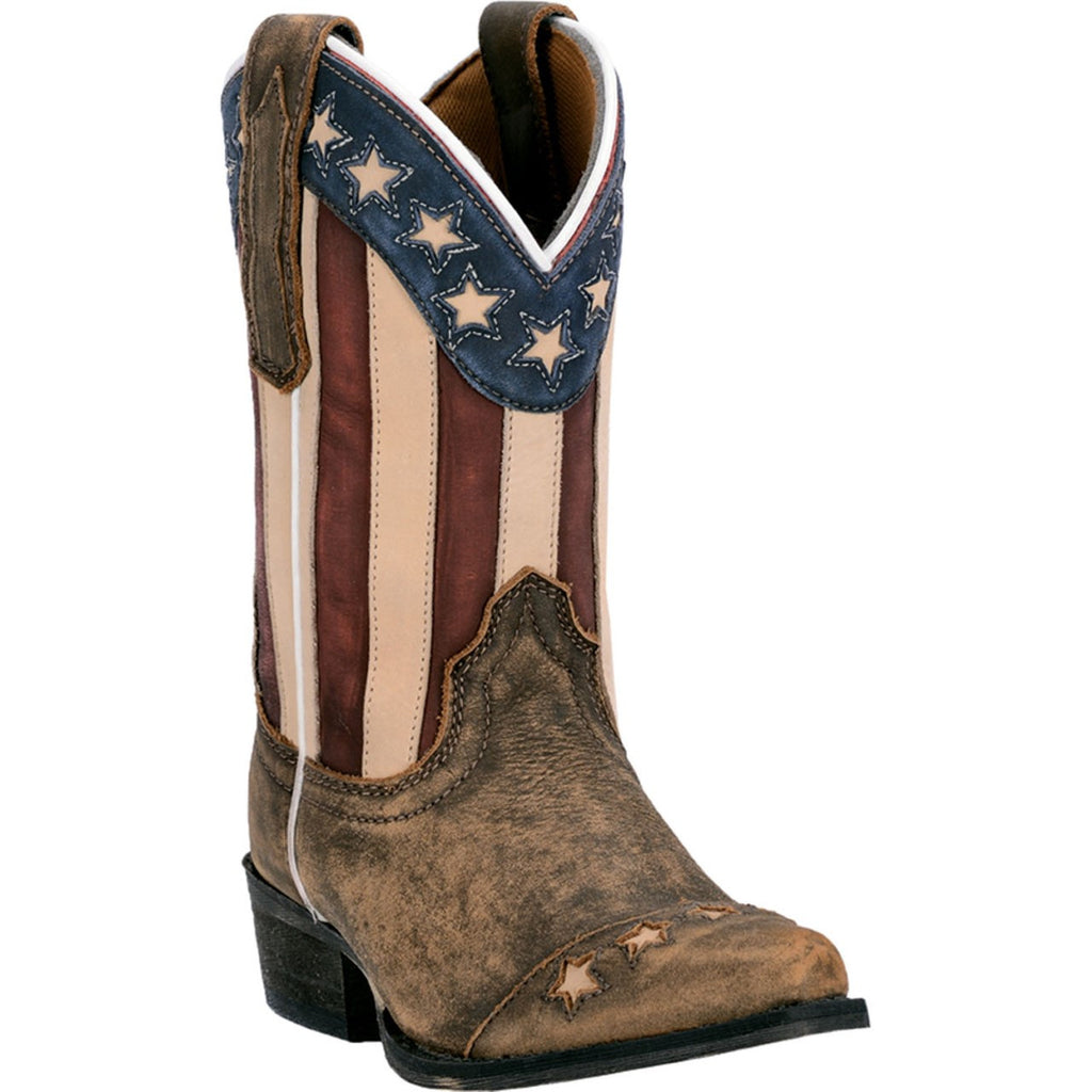 Dan Post Lil Liberty Flag Kid's Boot - West 20 Saddle Co.