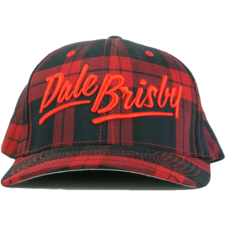 Red Plaid Fitted Cap - West 20 Saddle Co.