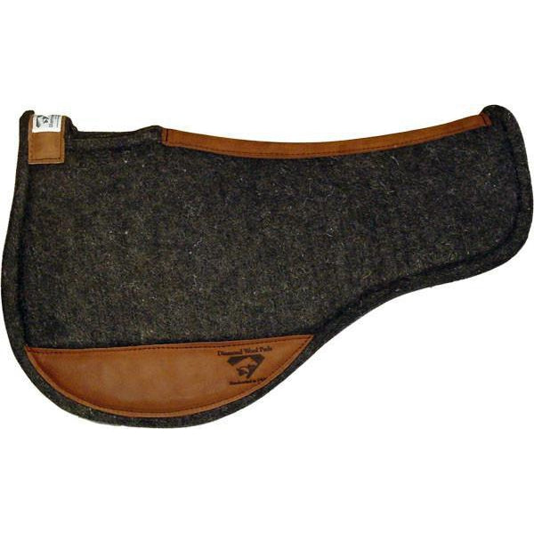 Diamond Wool Endurance Contoured Felt Pad - Round - West 20 Saddle Co.