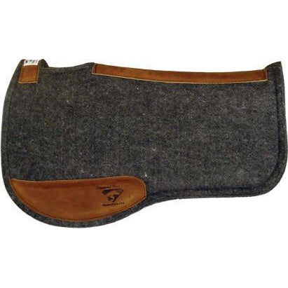 Diamond Wool Endurance Contoured Felt Pad – Square - West 20 Saddle Co.