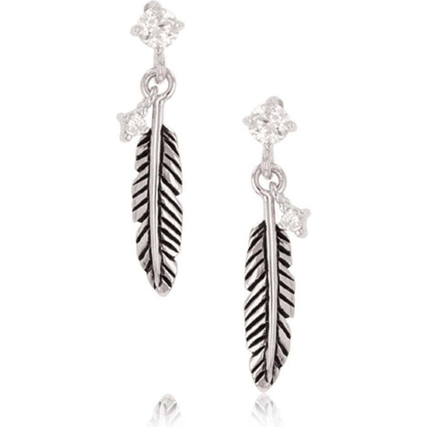 Montana Silversmiths Feather Whispers Earring
