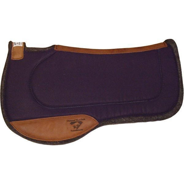 Diamond Wool Endurance Contoured Ranch Pad – Square - West 20 Saddle Co.