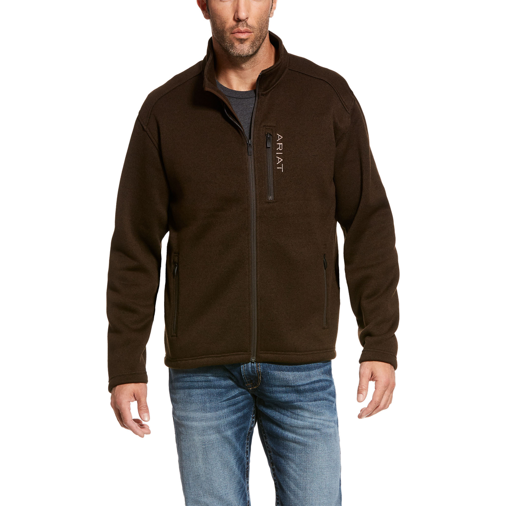 Ariat Mens Caldwell Full Zip Sweater