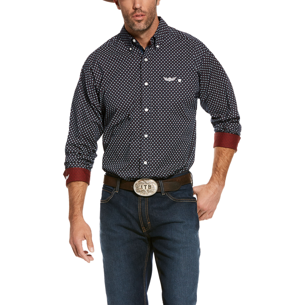 Ariat Mens Relentless Elevate Stretch Classic Fit Shirt