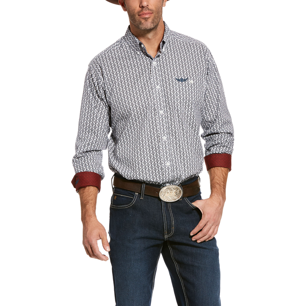 Ariat Mens Relentless Strike Stretch Classic Fit Shirt