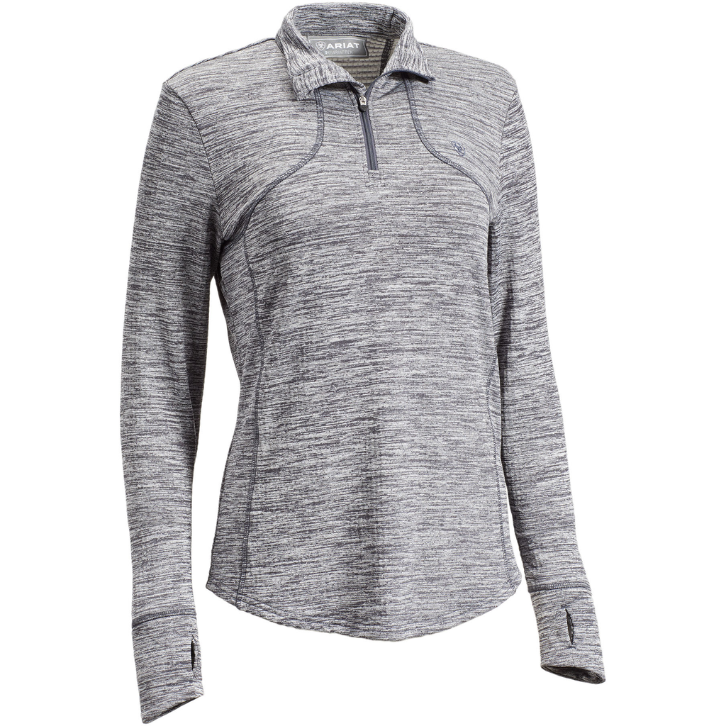 Ariat Womens Gridwork 1/4 Zip Baselayer