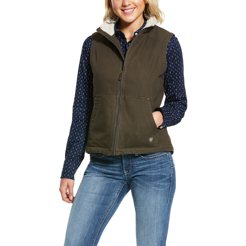Ariat Womens REAL Outlaw Insulated Vest