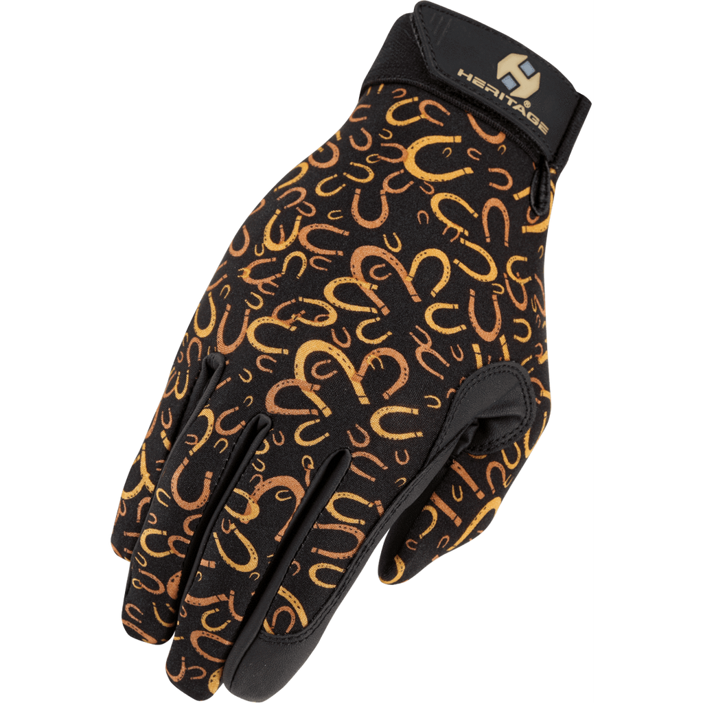 Heritage Performance Glove-Horseshoes