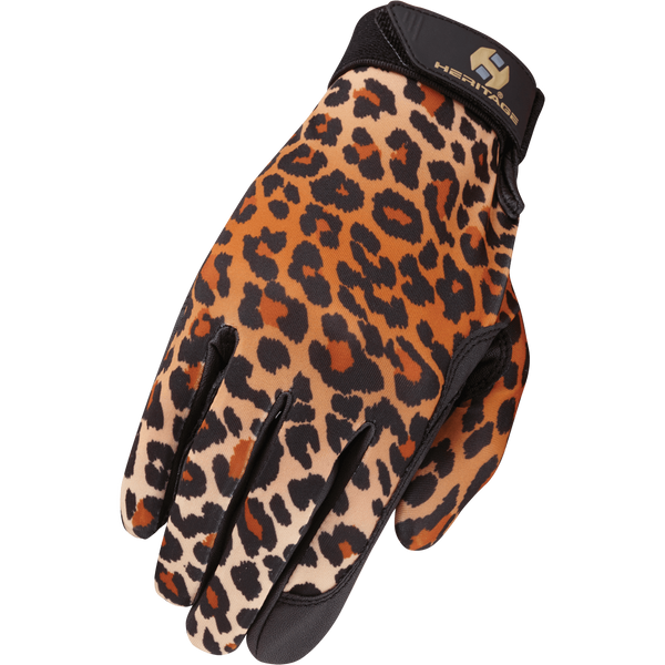 Heritage Performance Glove-Leopard