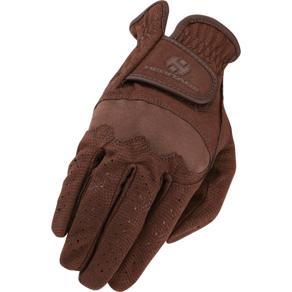 Heritage Spectrum Show Glove-Chocolate