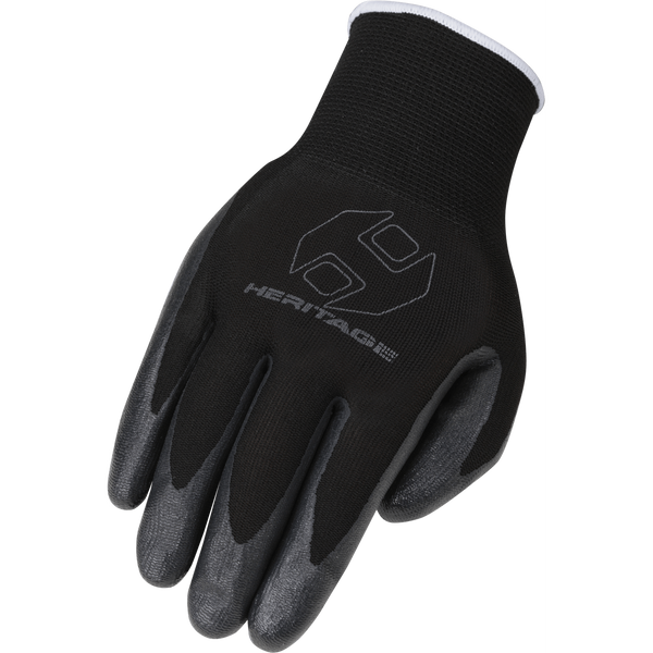 Heritage Utility Work Glove-3 Pack Black