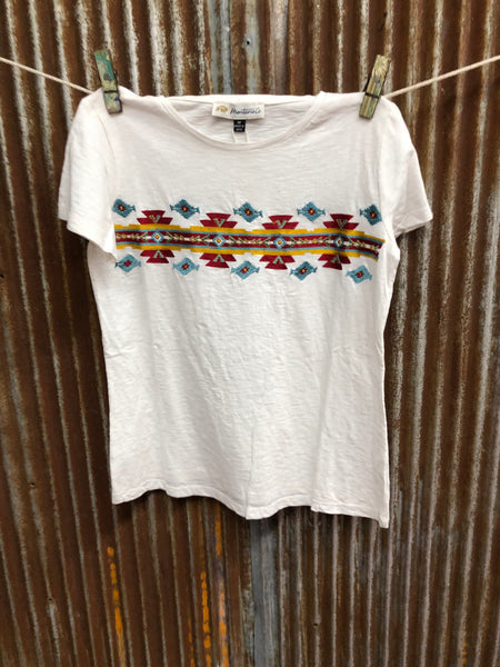 Montana Co Womans Geometric Tee