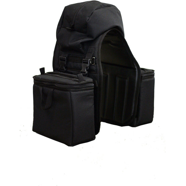 Equi-Tech Large Detachable Saddlebags - West 20 Saddle Co.