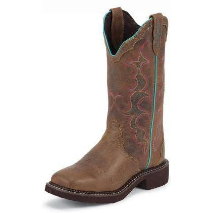 Justin Women's Raya Tan Boot - West 20 Saddle Co.
