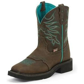Justin Women's Mandra Chocolate Puma - West 20 Saddle Co.