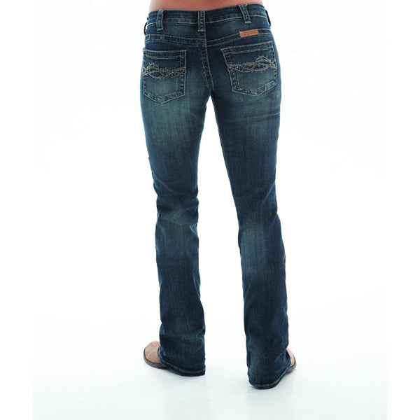 Women's Don't Fence Me In Dark Jeans