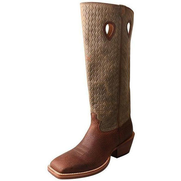 Twisted X Men's Buckaroo Boot – Brown Distressed/Bomber - West 20 Saddle Co.