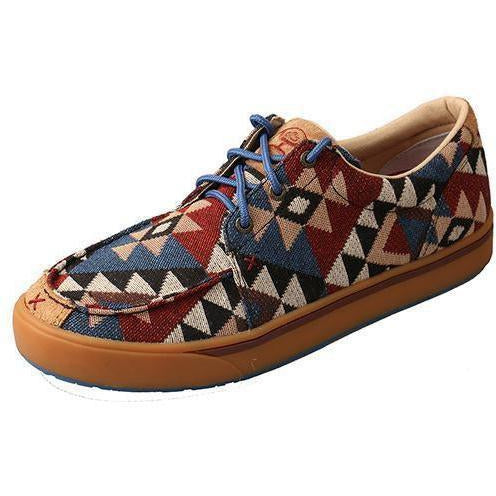 Twisted X Men's Hooey Lopers – Graphic Pattern Canvas - West 20 Saddle Co.