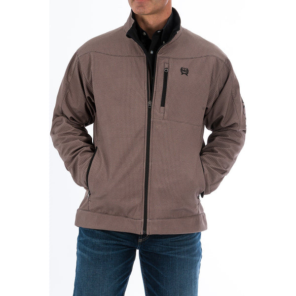 Cinch Mens Bonded Concealed Carry Jacket-Stone