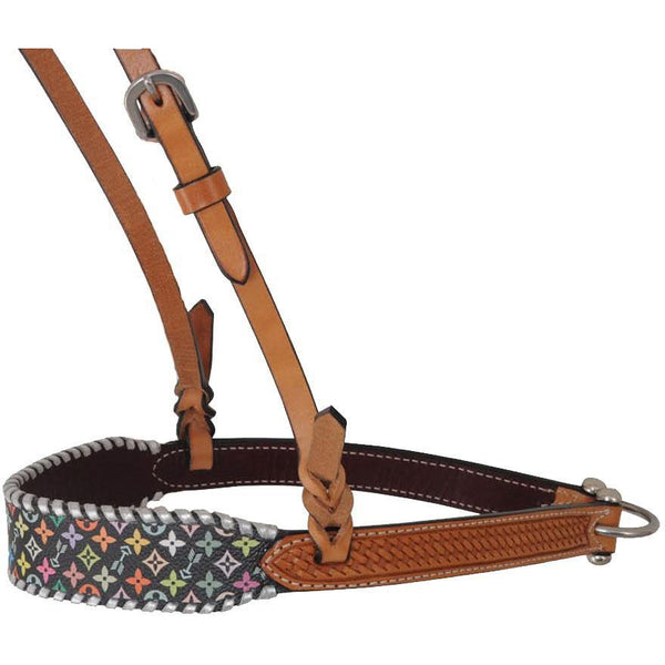 Rafter T Ranch Multi Color Design Noseband