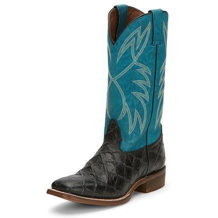 Nocona Mens Go Round Black Boot