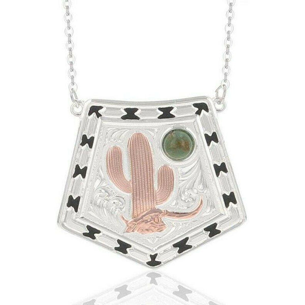 Montana Silversmiths Cactus Moon Necklace