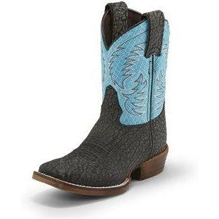 Nocona Kids Black Bronco Boot