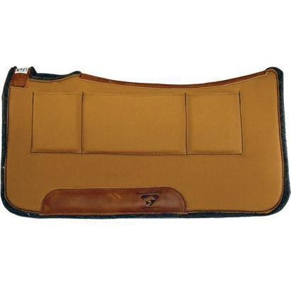 Diamond Wool Contoured Relief Pad – 32x32 - West 20 Saddle Co.
