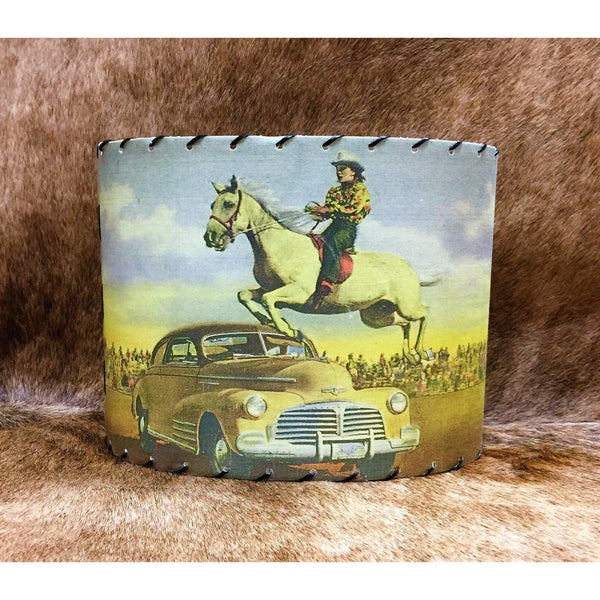 """Hang on Lucy"" Lamp Shade - West 20 Saddle Co."