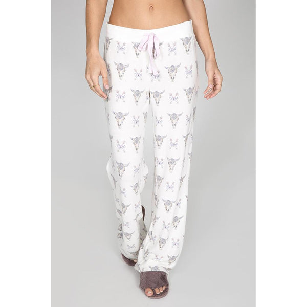PJ Salvage Lazy Days PJ Pants Natural