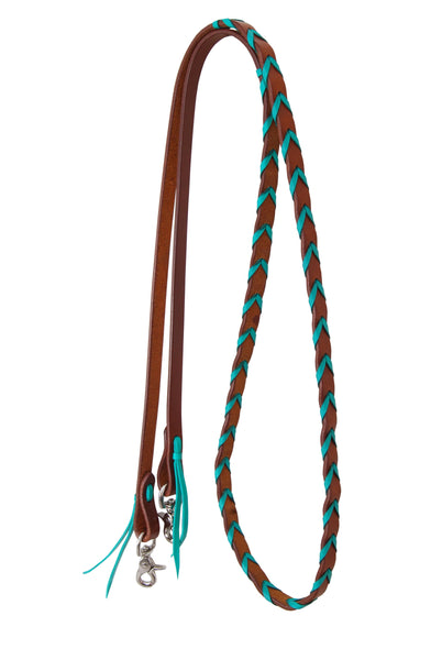 Rafter T Ranch Painted Cactus Barrel Reins