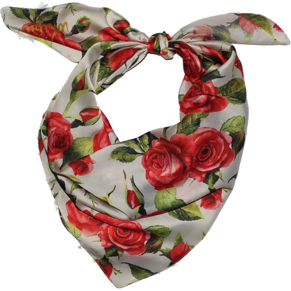 Red Rose Wild Rag