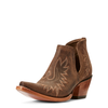 Ariat Womens Weathered Brown Dixon Western Boot