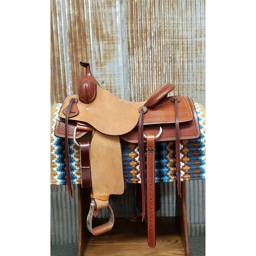 "16"" Scott Thomas Ranch Cutter Saddle"