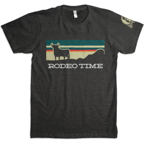 Dale Brisby Sunset Rodeo Time Tee - West 20 Saddle Co.