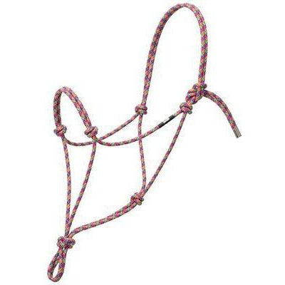 Weaver Leather Silvertip No. 95 Rope Halter, Small - West 20 Saddle Co.