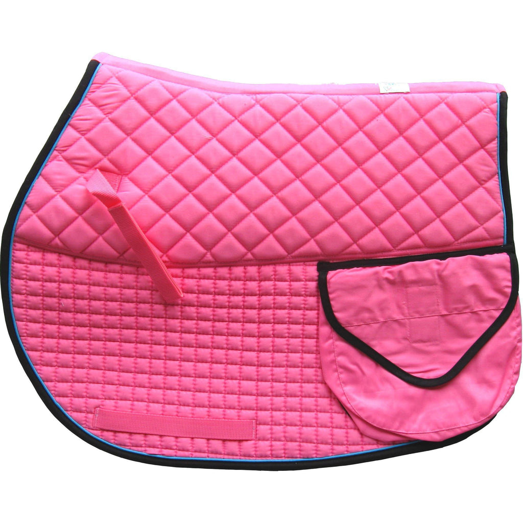 Pacific Rim International Double Back Trail Riding Pad - West 20 Saddle Co.
