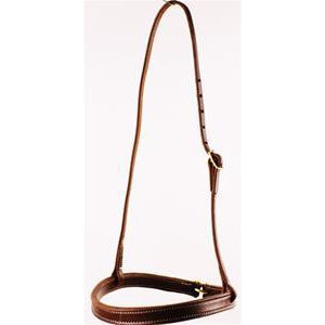 Harness Leather Tie Down Noseband