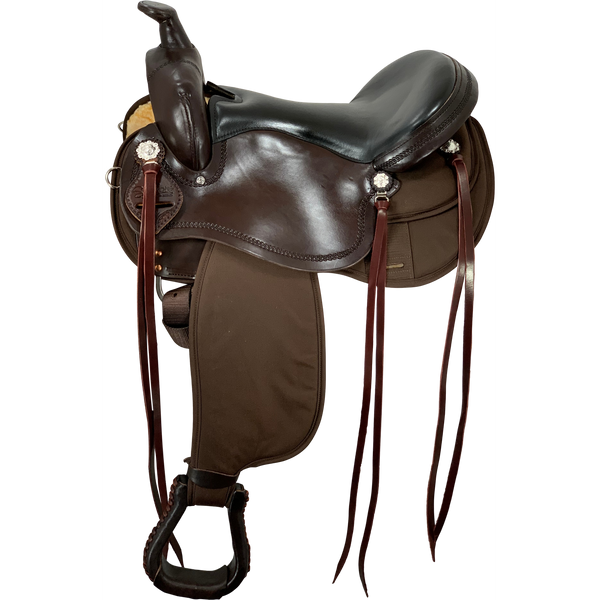 Scott Thomas Cordura Trail Saddle