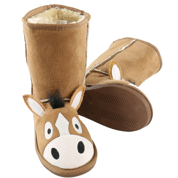 Lazy One Kids Horse Toasty Toez Boots