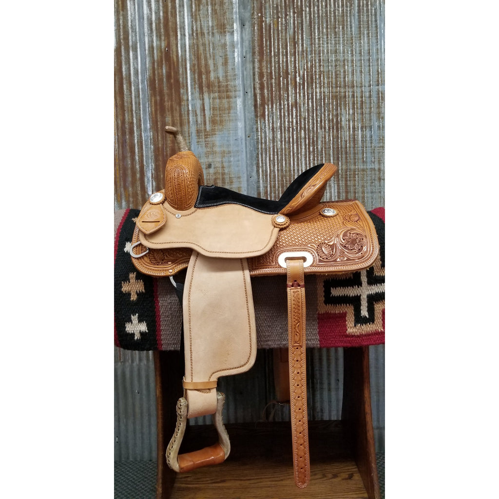 "15"" Custom West 20 Barrel Saddle"