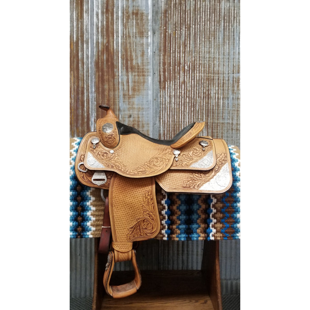 "16"" Dale Chavez Show Saddle (Gently Used)"