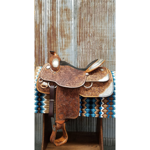 "16"" TEXTAN  Grandeur Show Saddle (Gently Used)"