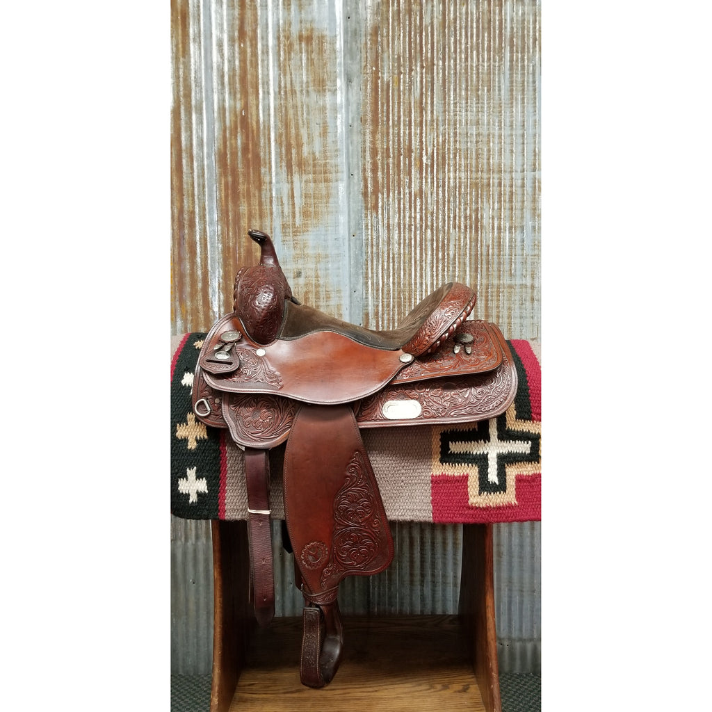 "15"" Circle Y All-Around Saddle (Gently Used)"