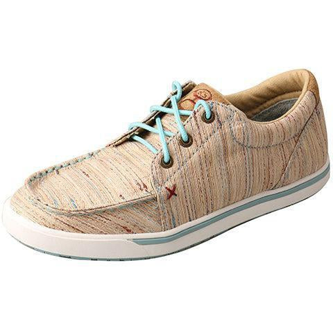 Twisted X Women's Hooey Loper-Tan/Multi