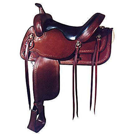 Big Horn  Wide Flex Tree Pleasure Saddle - West 20 Saddle Co.