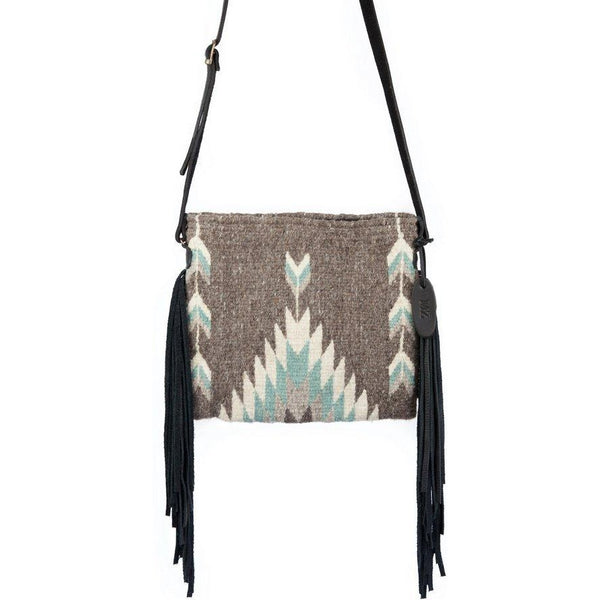 Smoky Quartz Palomita Fringe Bag - West 20 Saddle Co.