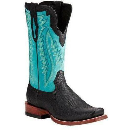 Ariat Relentless Prime- Black Bullhide - West 20 Saddle Co.